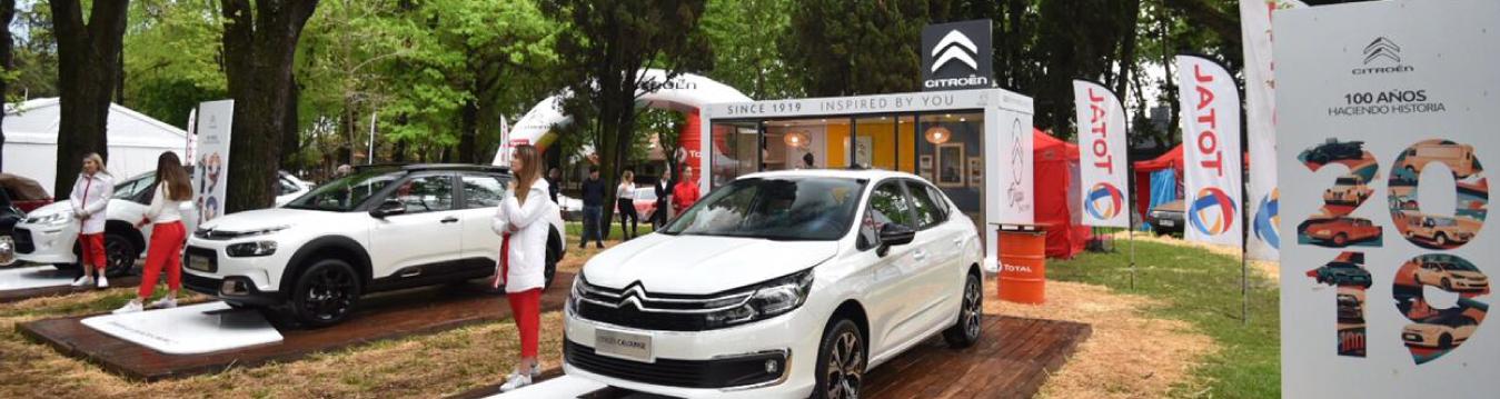 Total saluda a Citroën Argentina, su compañero de larga data, por su 100° Aniversario en el país, en el marco de AutoClásica 2019,