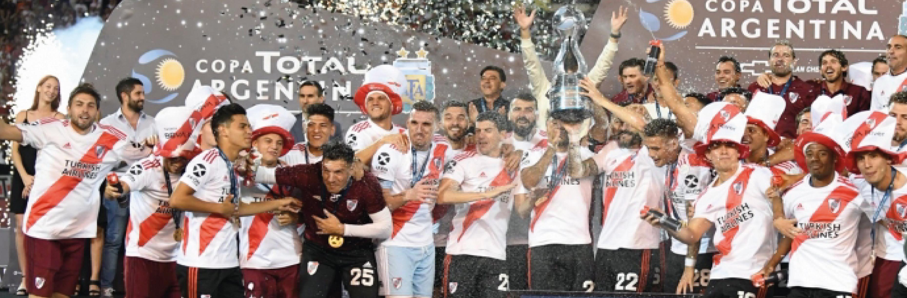 Total Argentina felicita a los equipos River y Central Córdoba que se enfrentaron el viernes en el estadio Malvinas Argentinas de Mendoza.