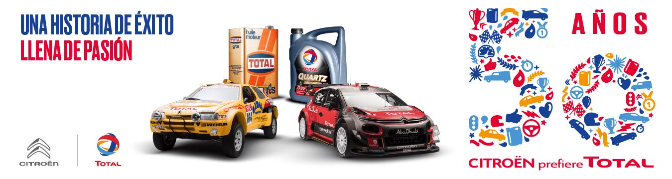 Citroën recomienda TOTAL