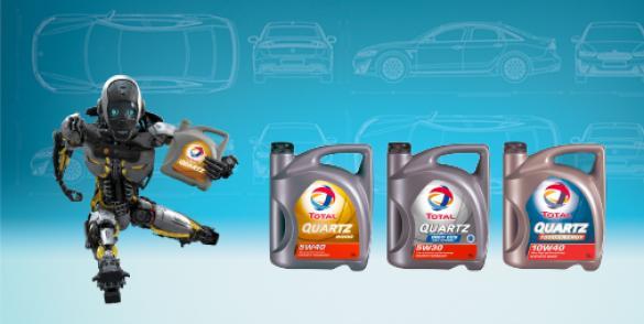 En nuestro catálogo vas a poder descubrir la más amplia variedad de aceite sintético que Total tiene para vos.